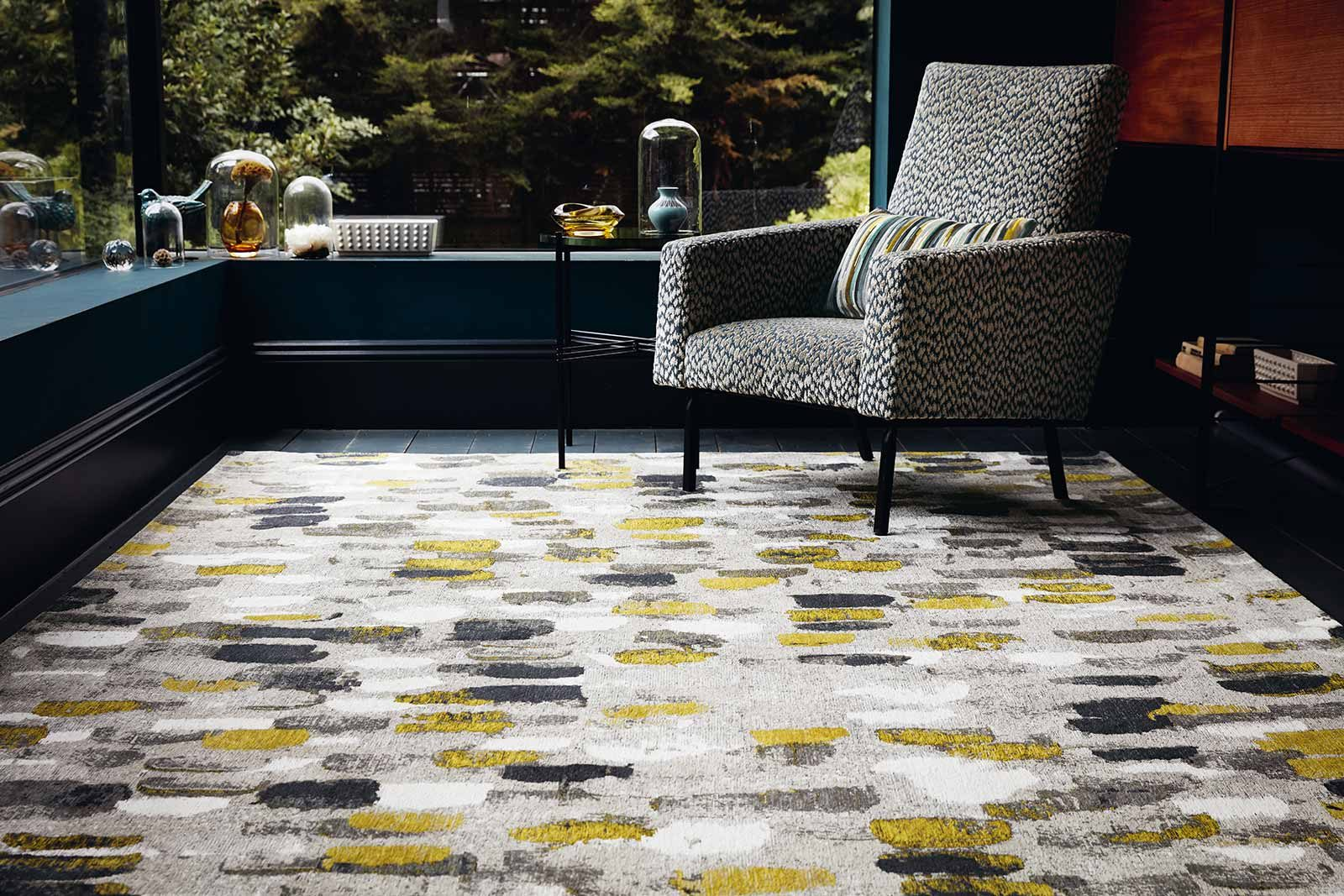 Louis De Poortere teppich Romo LX 8740 Murano Sunflower interior