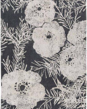 Louis De Poortere teppich Romo LX 8741 Lomasi Charcoal