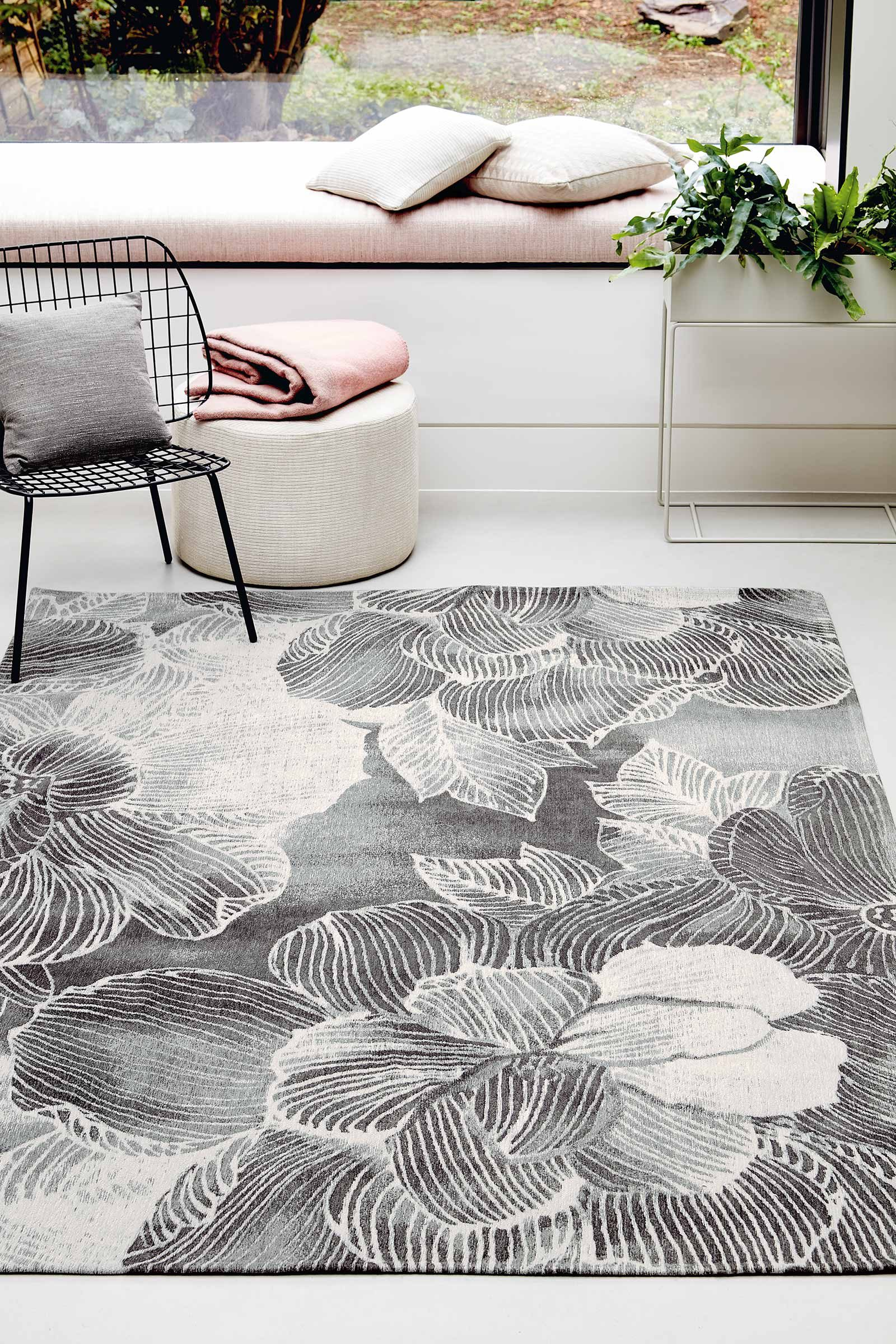 Louis De Poortere teppich Villa Nova LX 8755 Akina Carbon interior