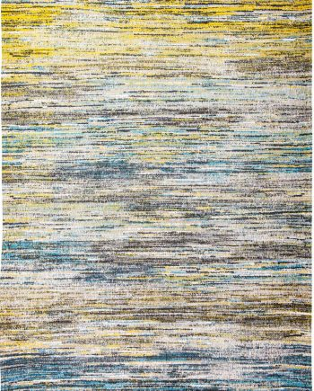 teppich Louis De Poortere LX 8873 Sari Blue Yellow Mix