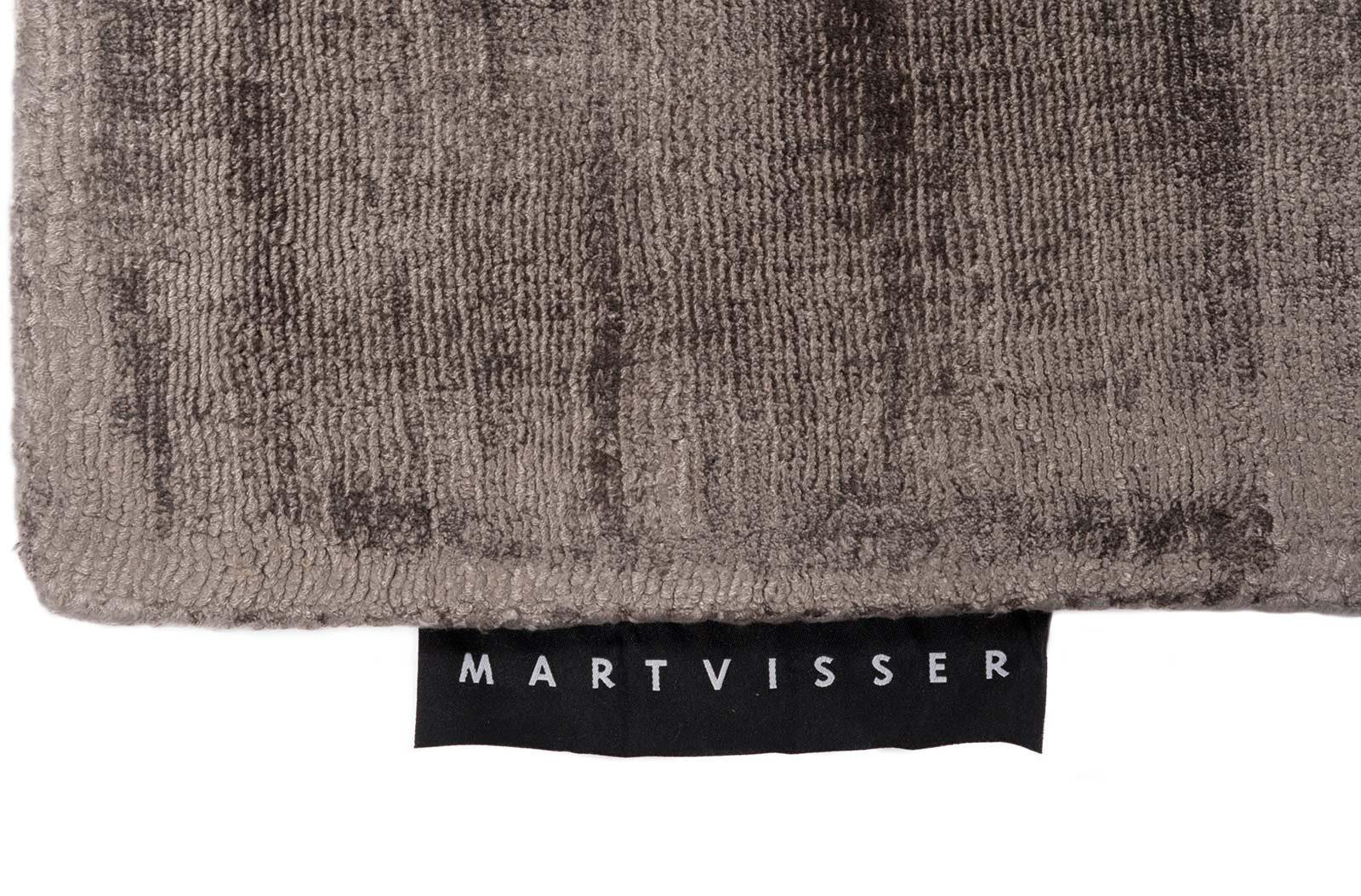 Mart Visser teppich Crushed Velvet Tin Grey 18 label