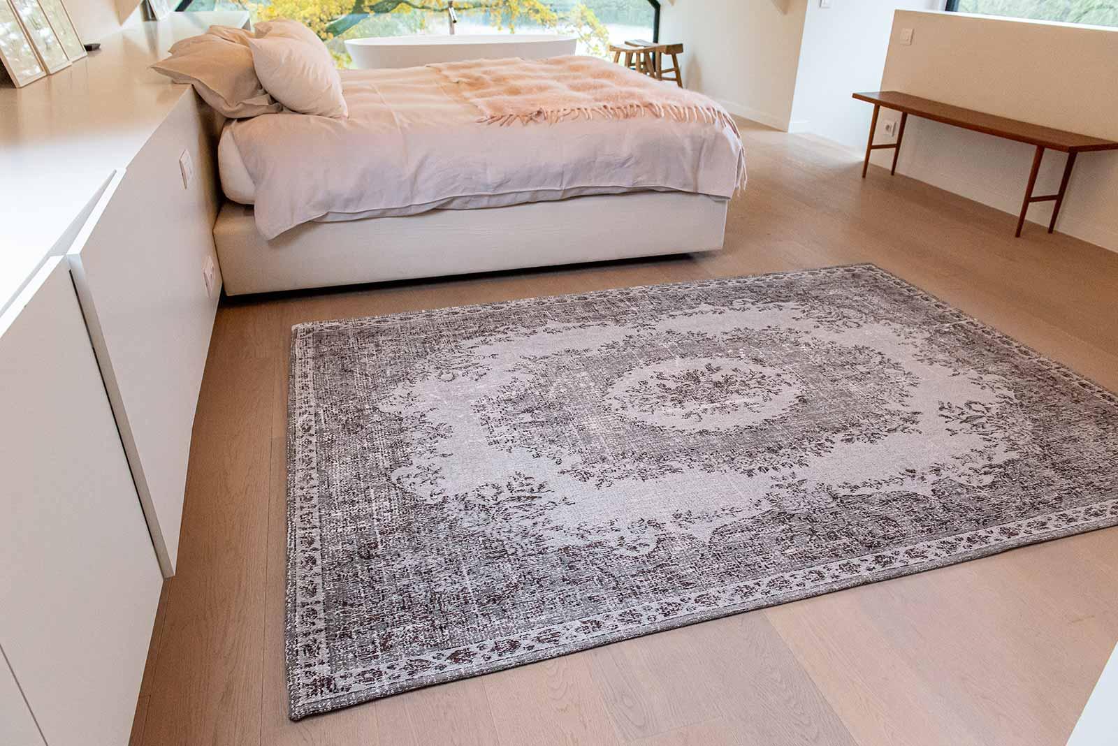 Louis De Poortere teppich LX 9107 Palazzo Da Mosta Contarini White interior 1