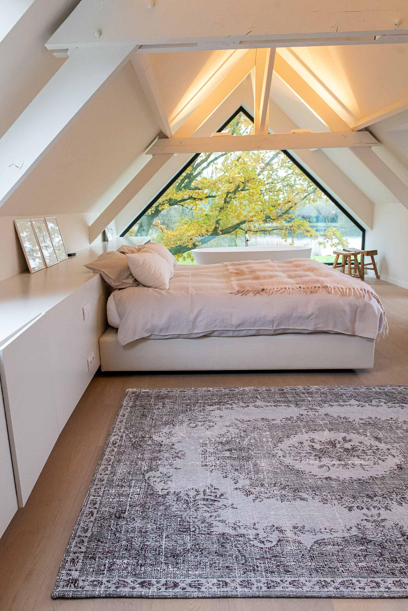 Louis De Poortere teppich LX 9107 Palazzo Da Mosta Contarini White interior 3