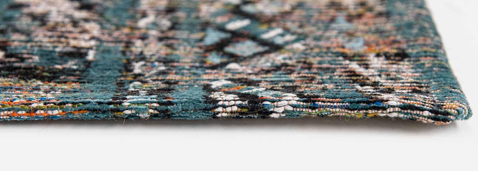 Louis De Poortere teppich LX 9110 Antiquarian Kilim Zemmuri Blue side