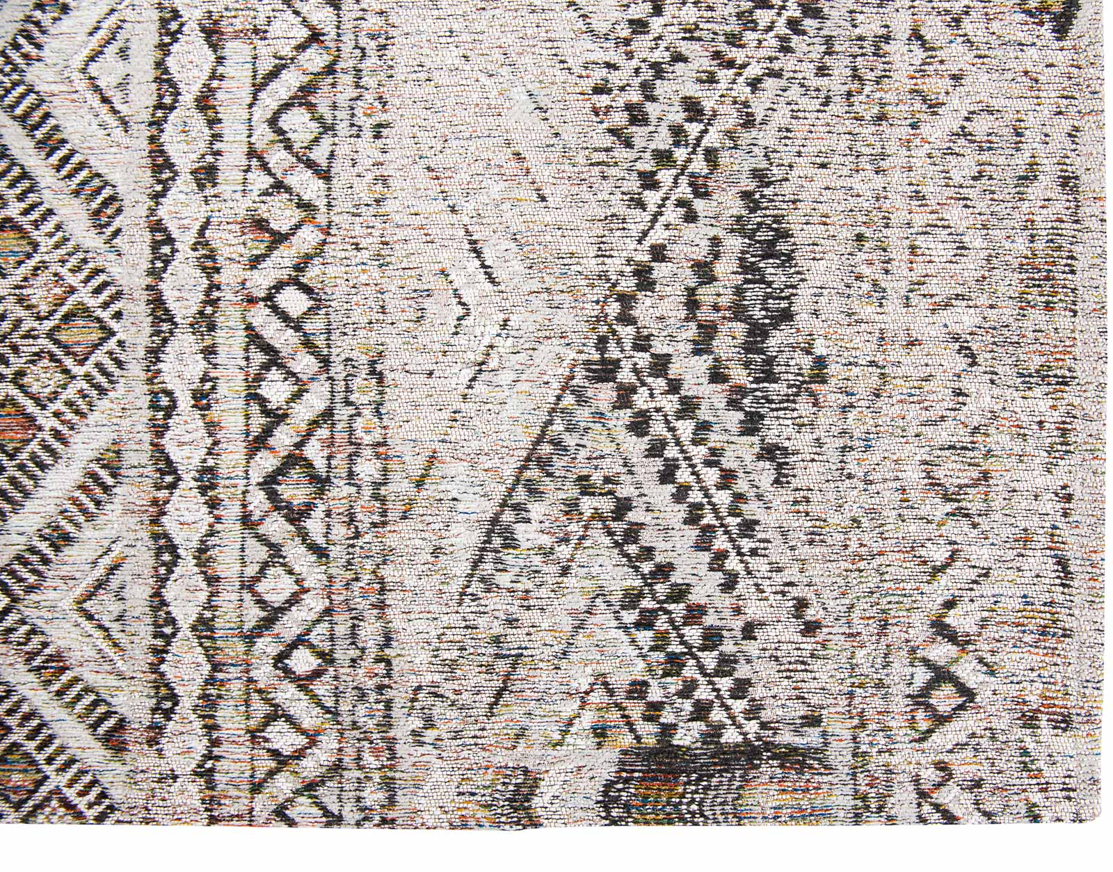 Louis De Poortere teppich LX 9114 Antiquarian Kilim Medina White corner