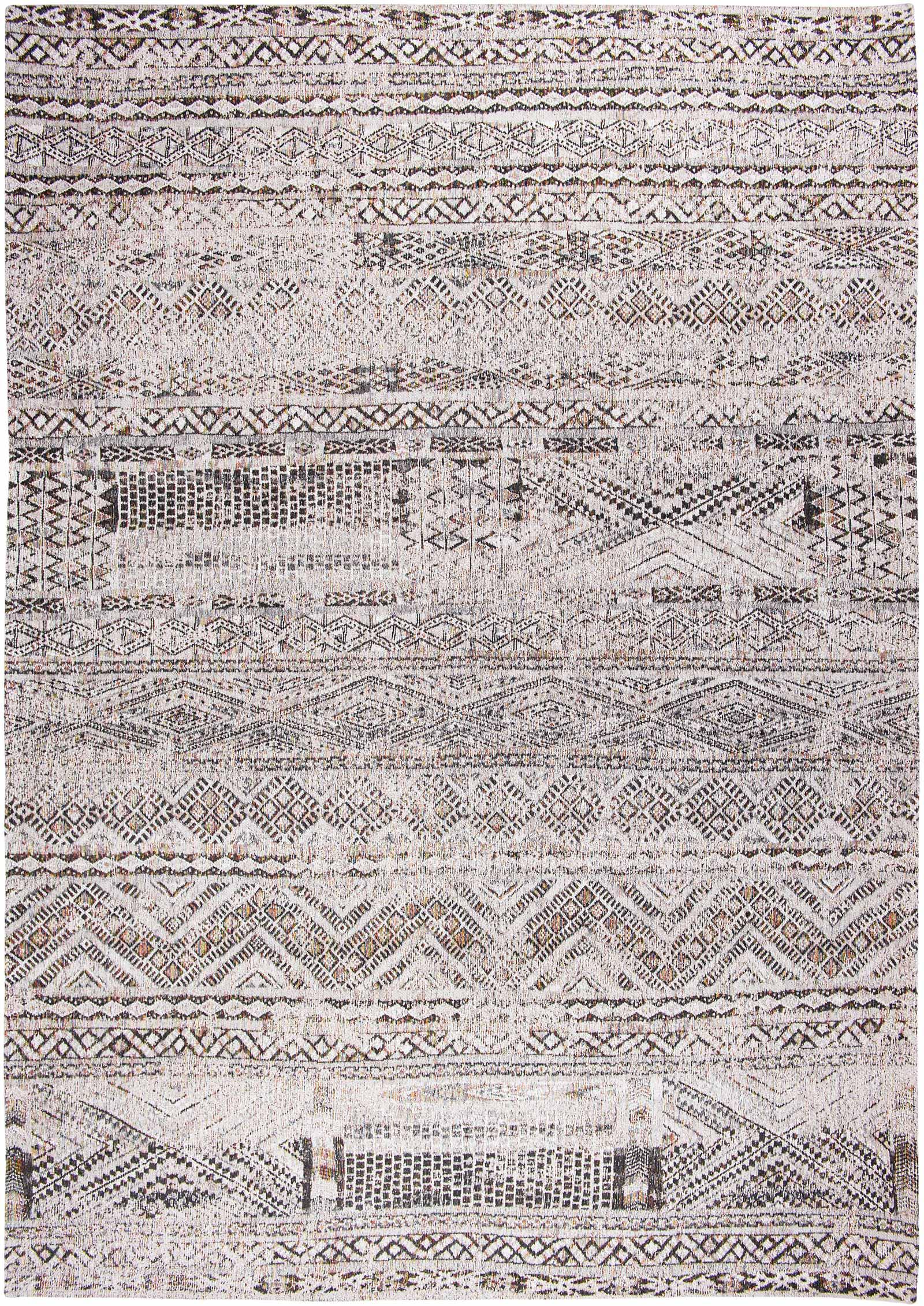 Louis De Poortere teppich LX 9114 Antiquarian Kilim Medina White