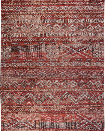 Louis De Poortere teppich LX 9115 Antiquarian Kilim Fez Red