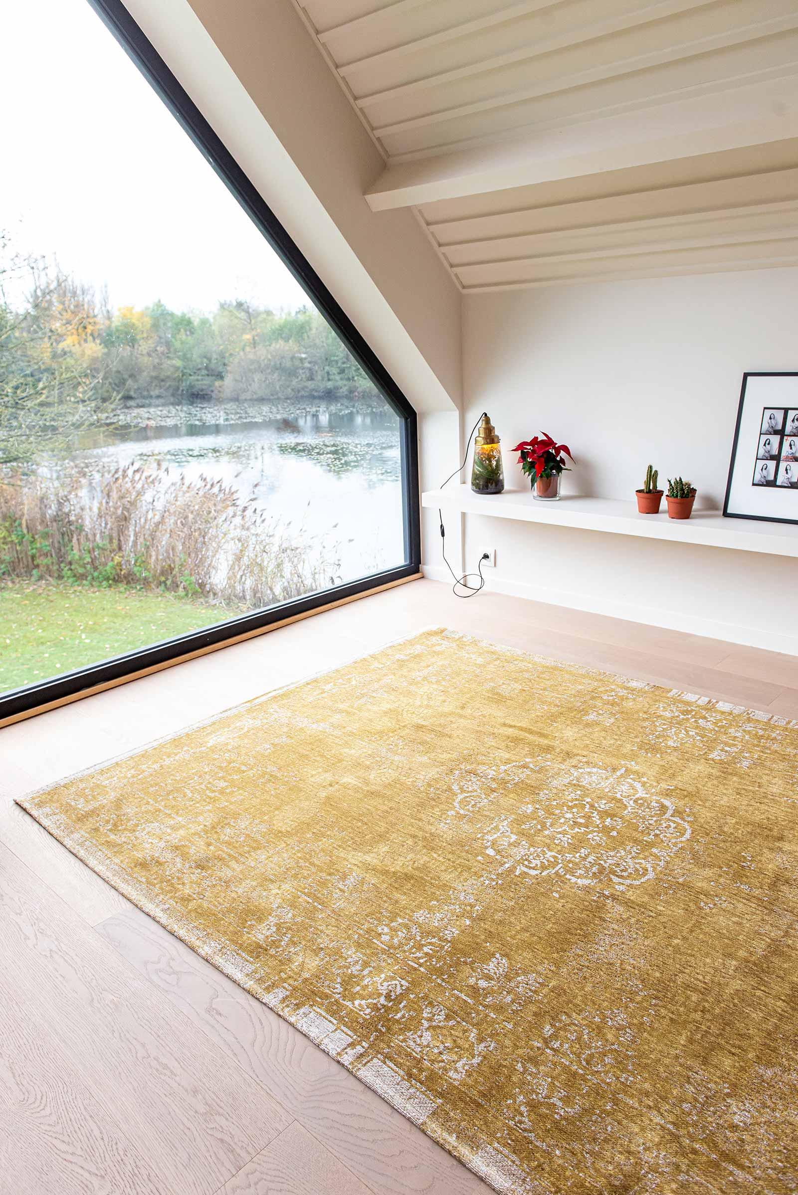 Louis De Poortere teppich LX 9145 Fading World Spring Moss interior 10