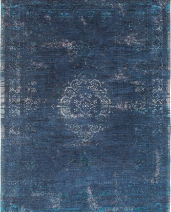 teppich Louis De Poortere LX 8254 Fading World Medaillon Blue Night