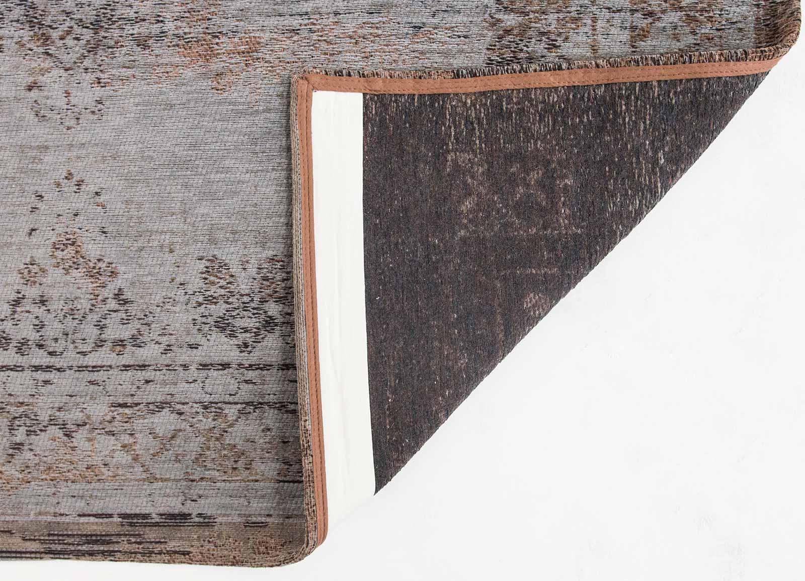 teppich Louis De Poortere LX 8257 Fading World Medaillon Grey Ebony back