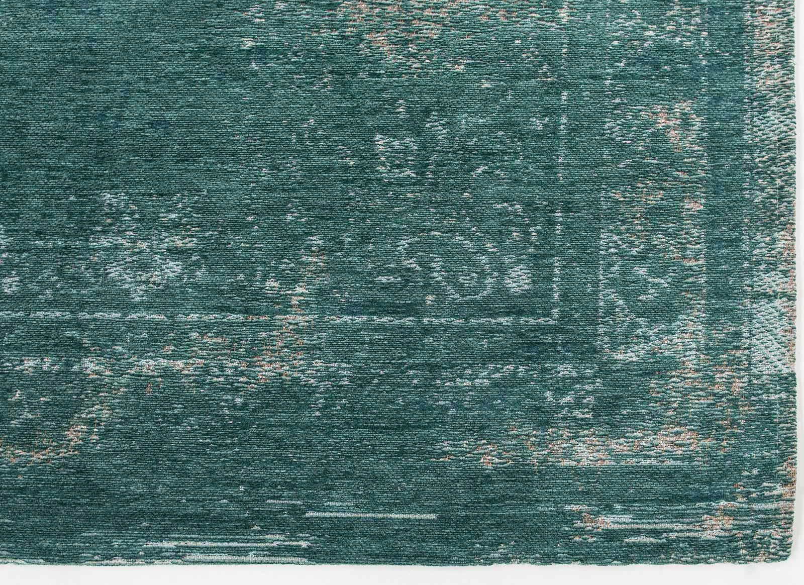 teppich Louis De Poortere LX 8258 Fading World Medaillon Jade corner