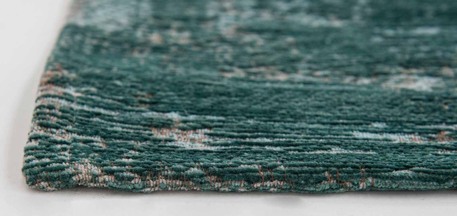 teppich Louis De Poortere LX 8258 Fading World Medaillon Jade side