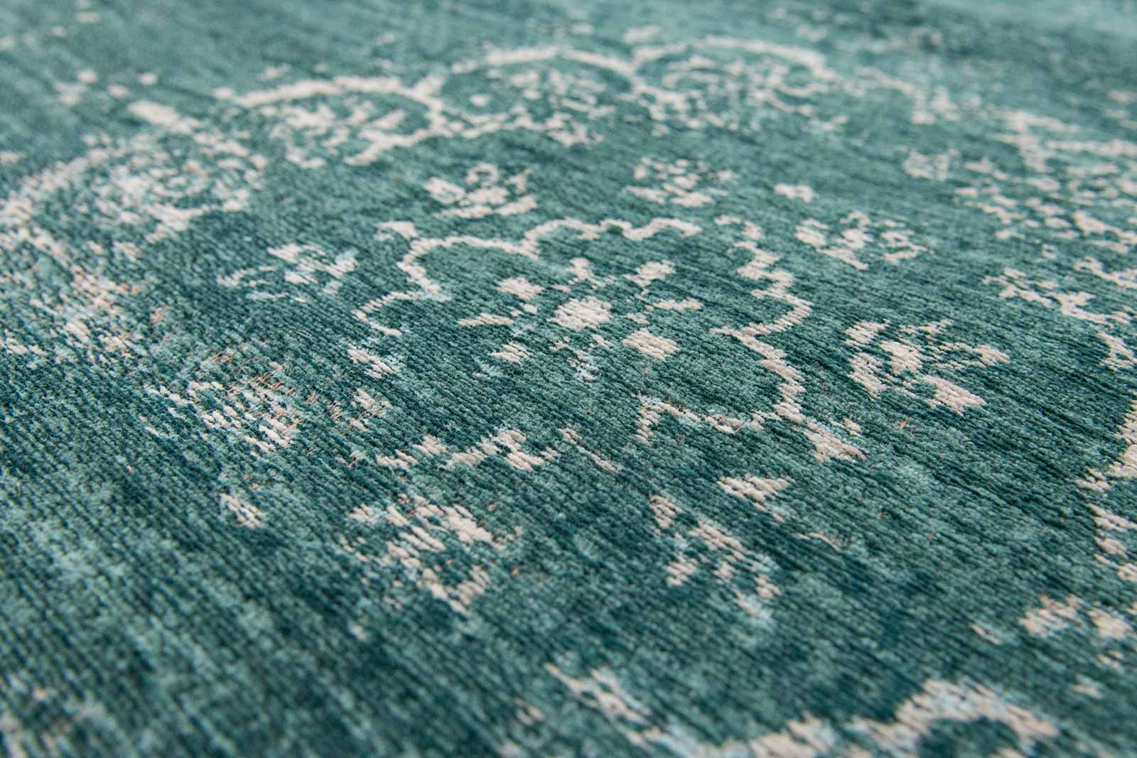 teppich Louis De Poortere LX 8258 Fading World Medaillon Jade zoom