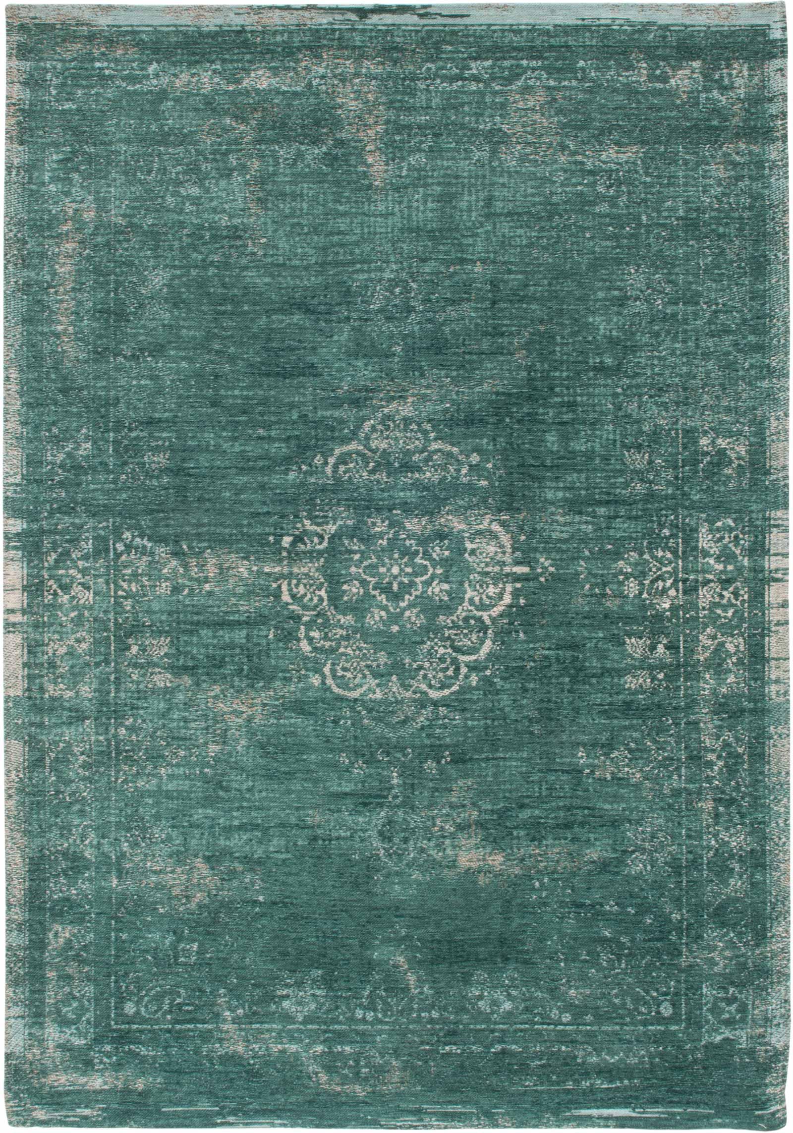 teppich Louis De Poortere LX 8258 Fading World Medaillon Jade