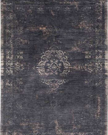 teppich Louis De Poortere LX 8263 Fading World Medaillon Mineral Black
