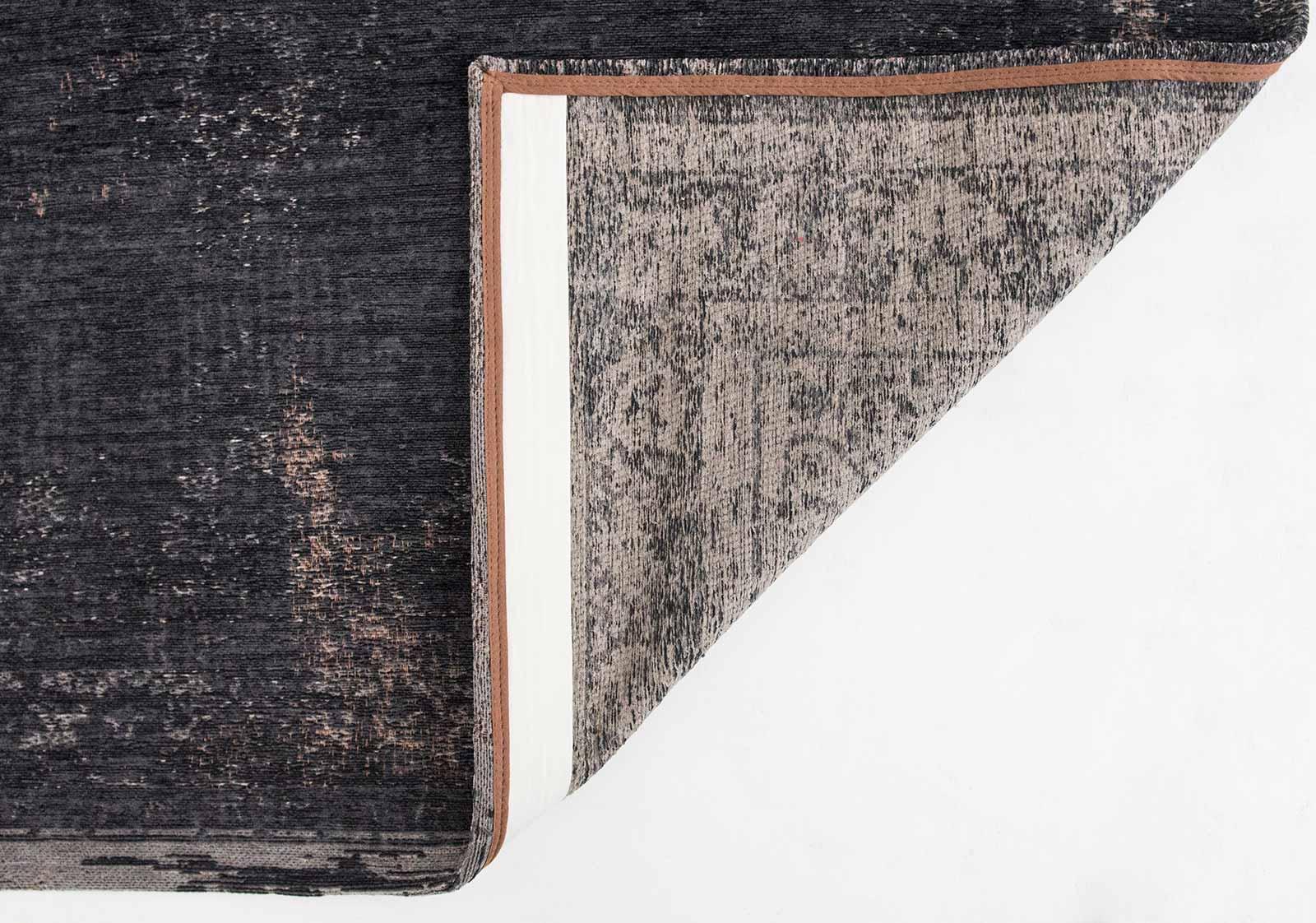 teppich Louis De Poortere LX 8263 Fading World Medaillon Mineral Black back