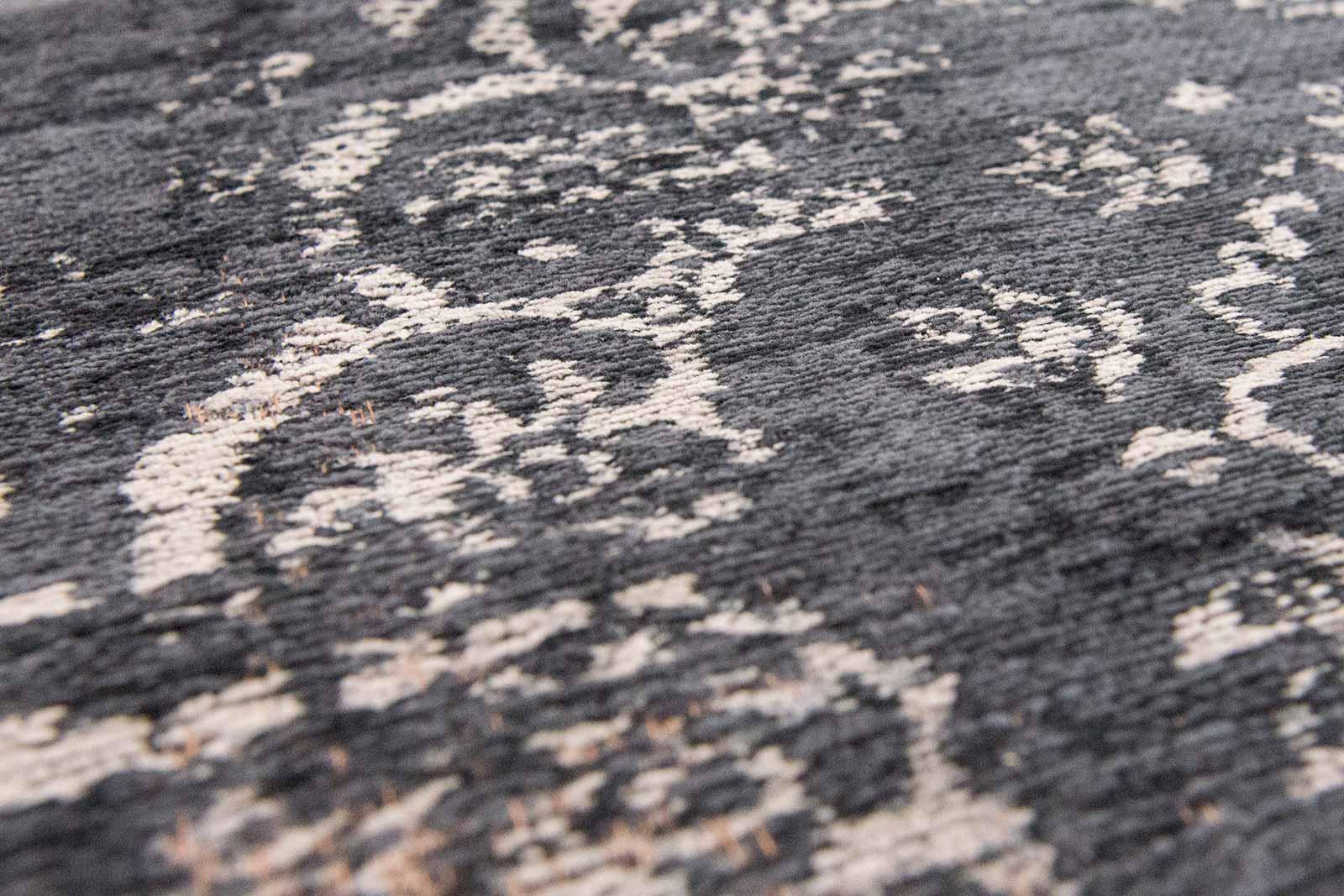 teppich Louis De Poortere LX 8263 Fading World Medaillon Mineral Black zoom