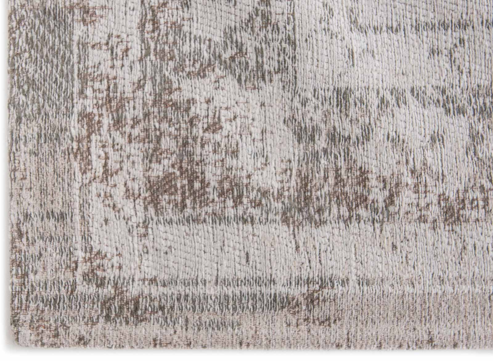 teppich Louis De Poortere LX 8383 Fading World Medaillon Salt Pepper corner