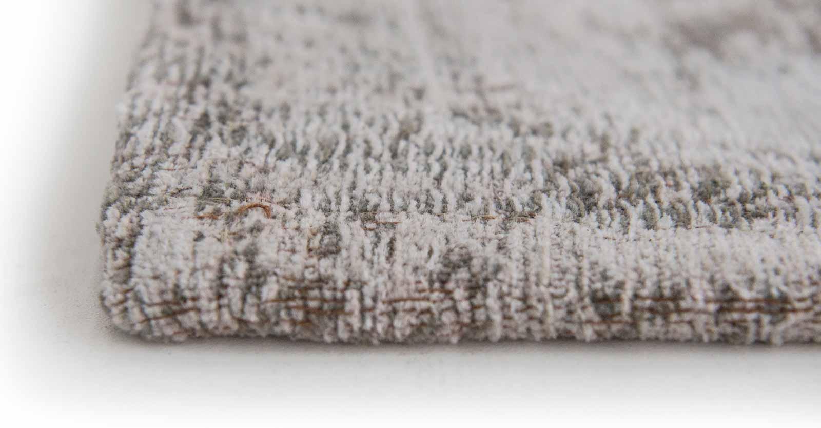 teppich Louis De Poortere LX 8383 Fading World Medaillon Salt Pepper side