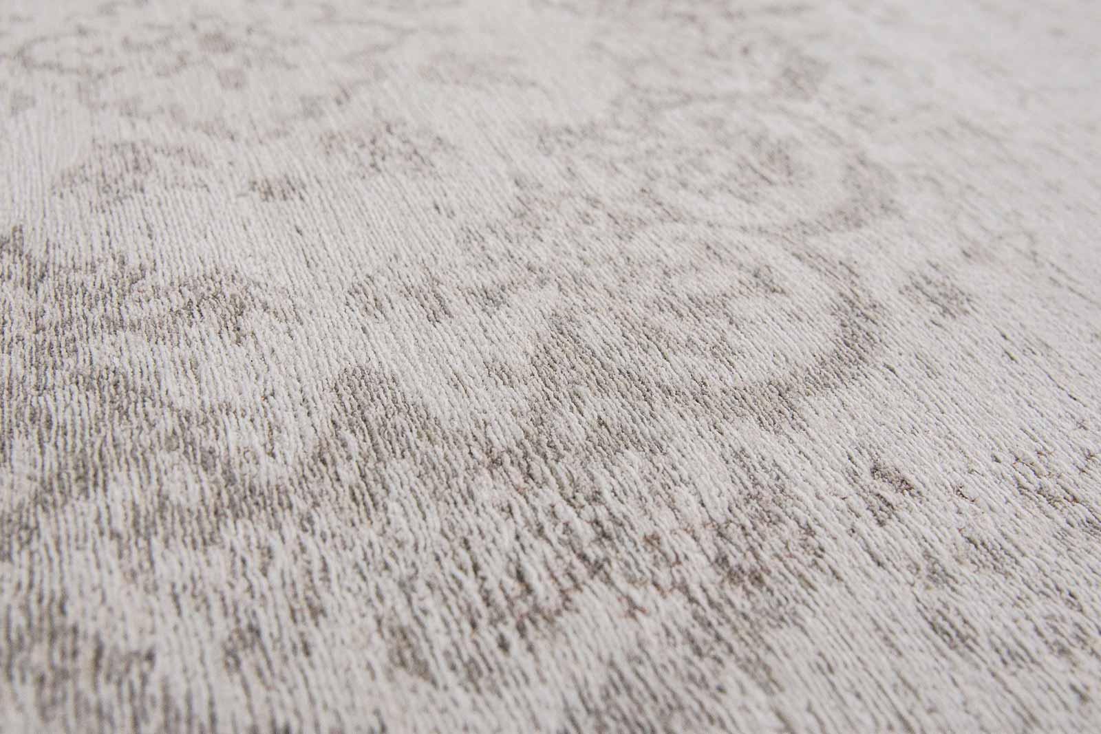 teppich Louis De Poortere LX 8383 Fading World Medaillon Salt Pepper zoom