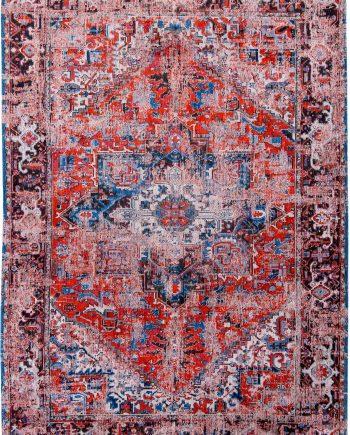 teppich Louis De Poortere LX 8703 Antiquarian Antique Heriz Classic Brick