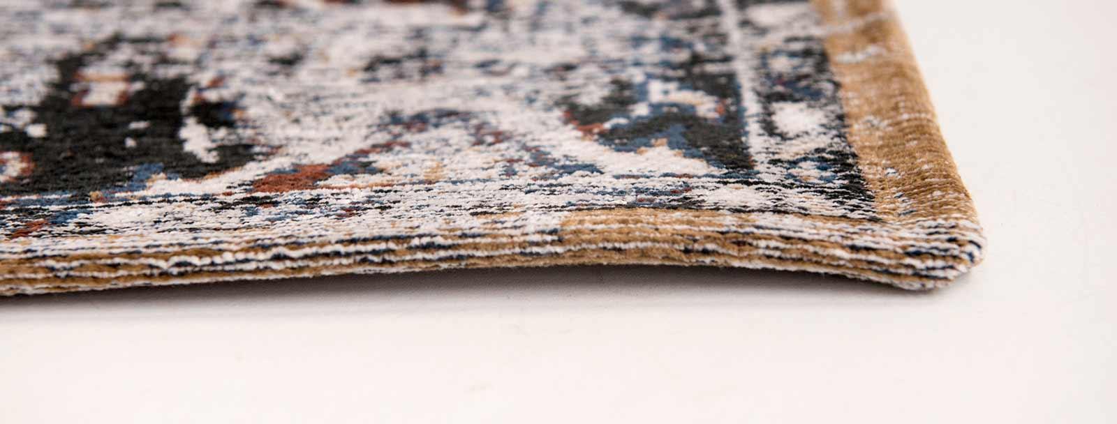 teppich Louis De Poortere LX 8707 Antiquarian Antique Heriz Divan Blue side