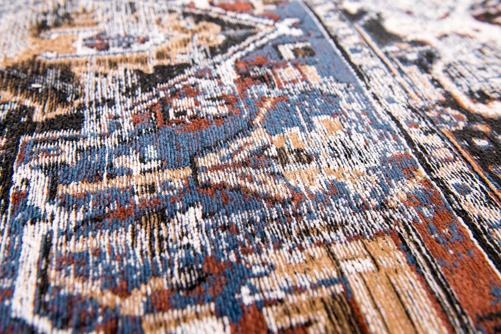 teppich Louis De Poortere LX 8707 Antiquarian Antique Heriz Divan Blue zoom 2