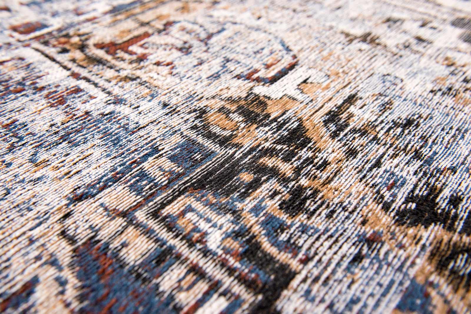 teppich Louis De Poortere LX 8707 Antiquarian Antique Heriz Divan Blue zoom